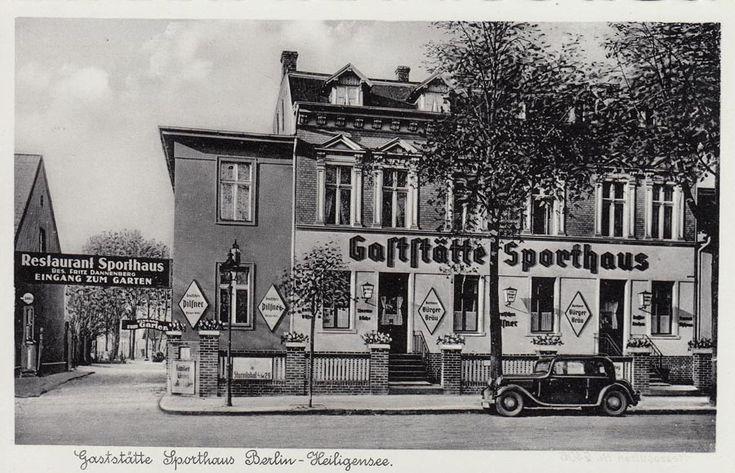 Gaststätte Sporthaus Berlin-Heiligensee Um 1930