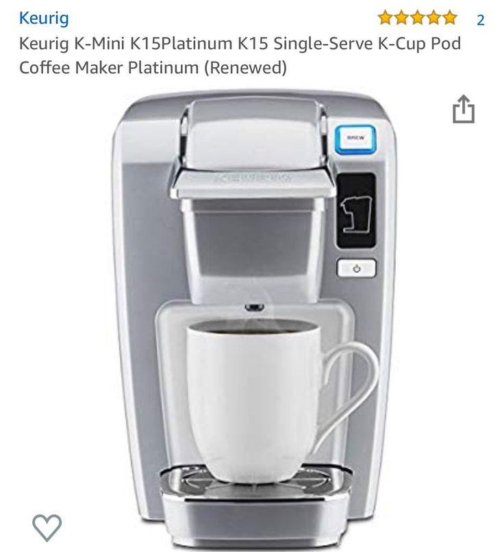how to use keurig coffee maker mini