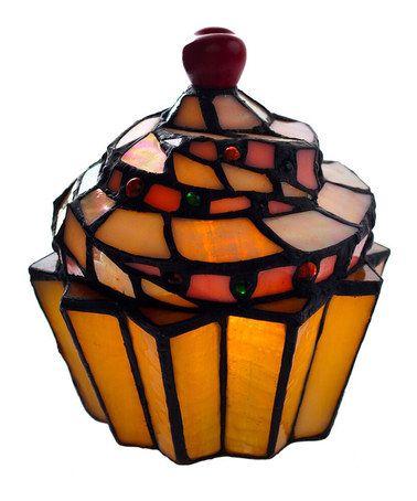 Cupcake Accent Lamp #zulily #zulilyfinds