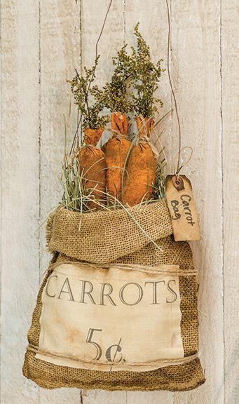 KP Creek Gifts - Carrot Bag