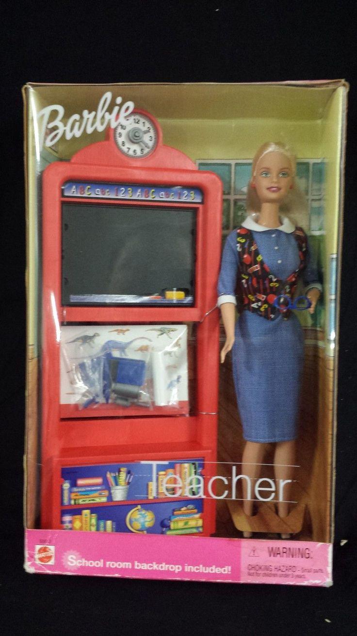 Best 25 barbie 2000 ideas on pinterest beautiful barbie dolls barbie teacher doll with playset 2000 sciox Images