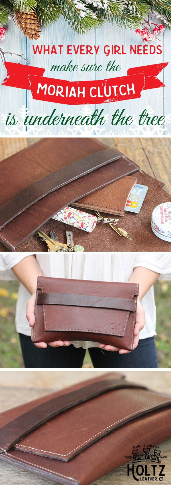 It's true that when it comes to gifts for her, it's the thought that counts, but that doesn't mean the gift itself shouldn't be one she'll love and treasure for a lifetime. Each item is handmade with the finest Full Grain Leather, from a southern tannery, to get a rustic look and feel. Plus, we'll personalize it with her name, initials, or a personal note, showing that thought and planning went into finding the perfect gift for her.