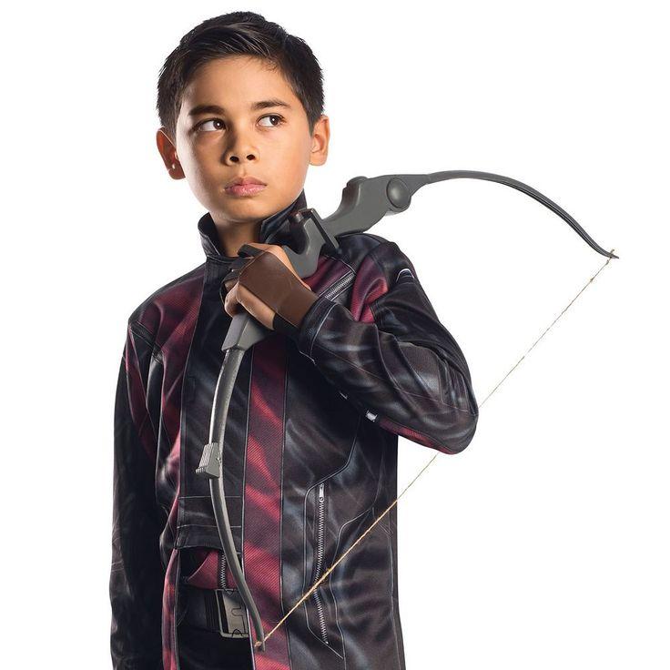 Youth Marvel Captain America: Civil War Hawkeye Bow & Arrow Costume Accessory, Black