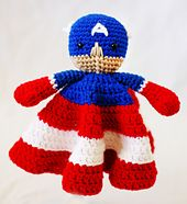 Ravelry: CAPTAIN 'MERICA Blanket Buddy pattern by Amy McC Anderson
