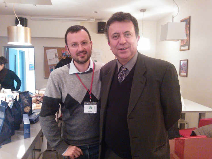 Our General Secretary with the Ambassador of Mexico in Ireland