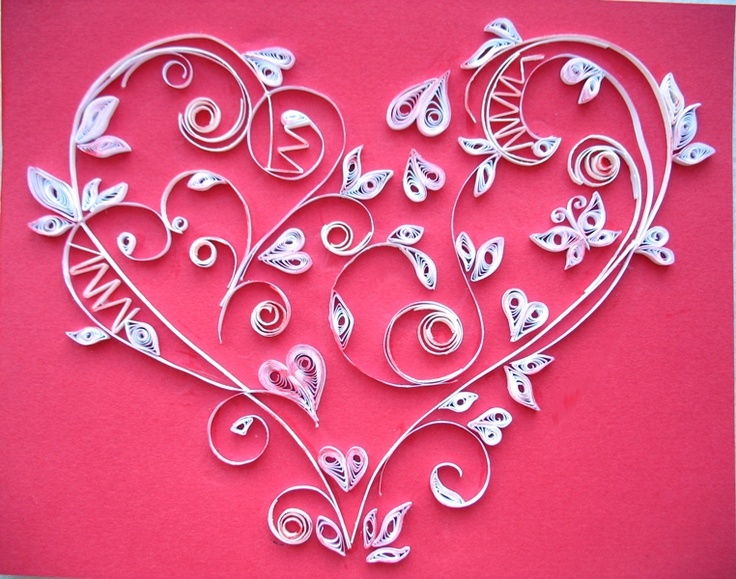 73 best Quilling Wedding Ideas images on Pinterest | Paper ...