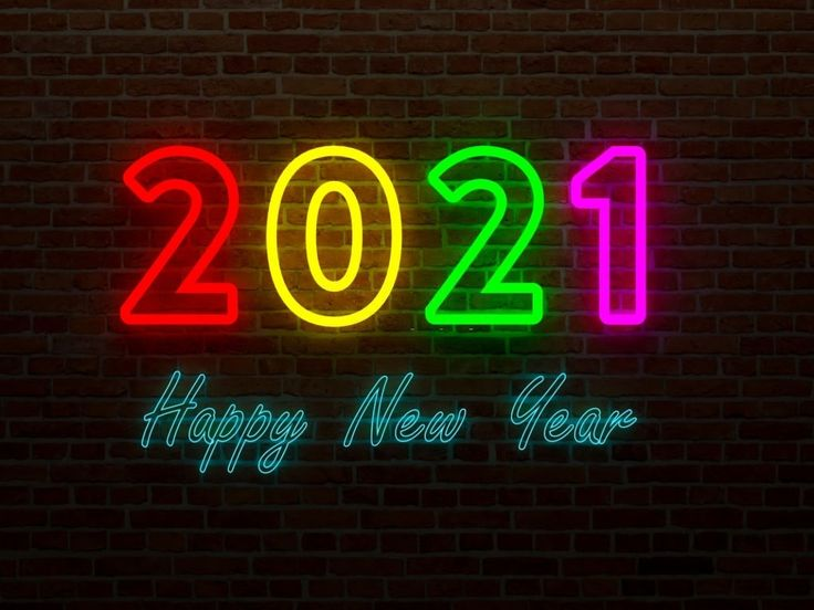 Stunning Happy New Year 2021 Wallpaper in 2020 | Happy new ...