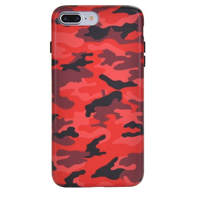 huge discount 6eca8 eba16 Red Camo iPhone Case in 2019 | Polyvore Items | Camo phone cases ...
