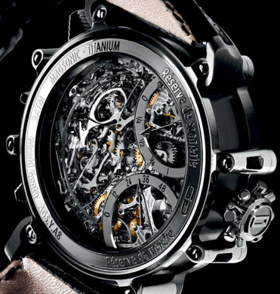 Gerald Genta Arena Metasonic Sonnerie Watch   $900,000   gerald genta