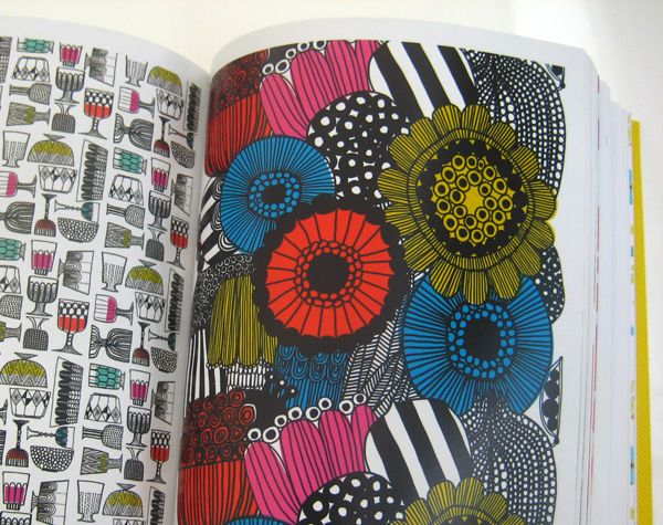 "Print & Pattern 2 - by Bowie Style. Design book published by Laurence King in October 2011 - ""Marimekko"" pages. ISBN-13: 978-1856697927"