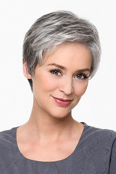 The 25+ best Short gray hair ideas on Pinterest | Grey pixie hair ...