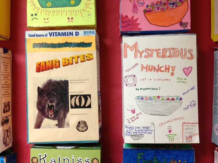 12 best Steven Noyes 4th Grade images on Pinterest Book reports - cereal box book report sample