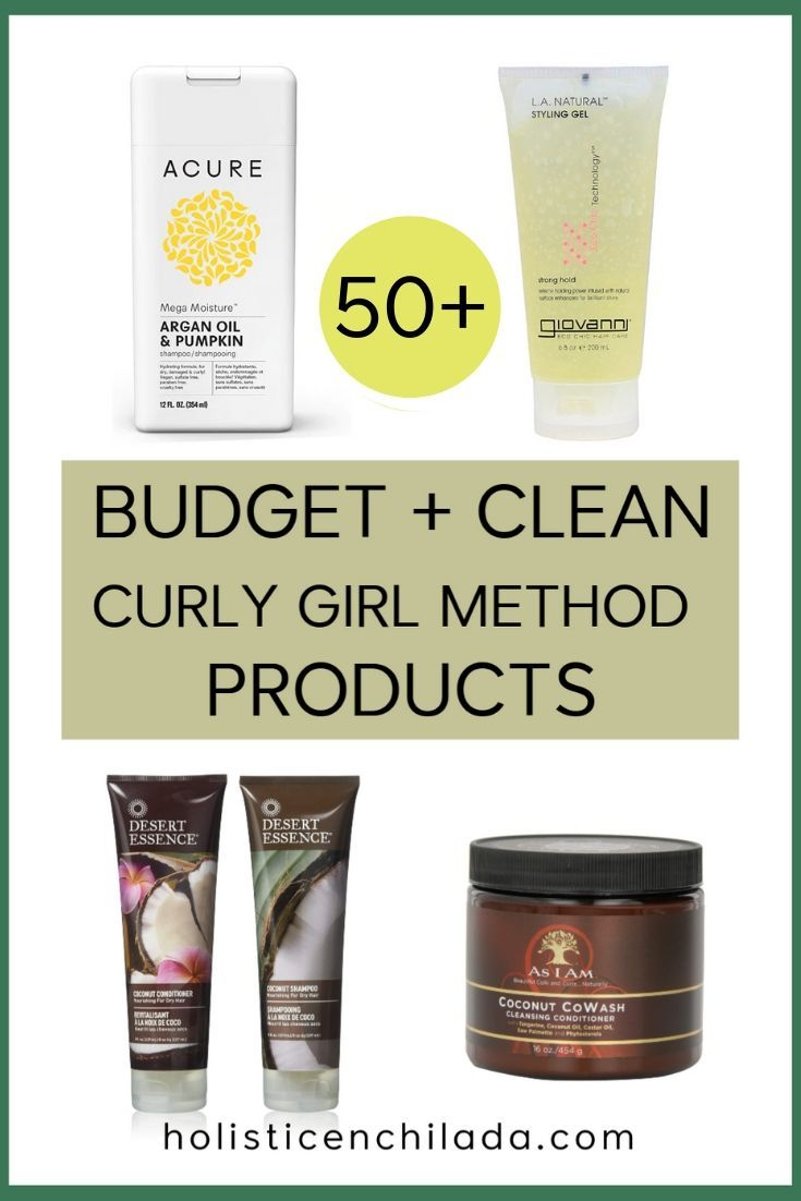 Affordable Clean Curly Girl Method Products Curly Girl Method Clean Curly Hair Curly Girl