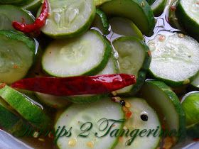 Turnips 2 Tangerines: Spicy Refrigerator Pickles