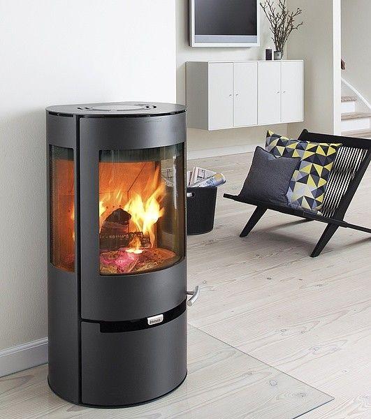 http://www.gr8fires.co.uk/aduro-9-defra-wood-burner/?utm_source=Social&utm_medium=Social - Aduro 9 DEFRA Wood Burner 6kW - Round, Cylindrical Woodburner