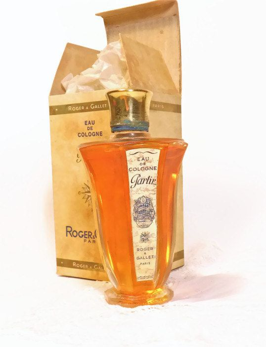 1930 vintage bottiglia profumo francese ROGER & GALLET di danycoty