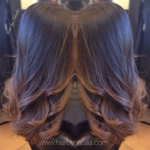 black roots sunkissed brunette - Google Search