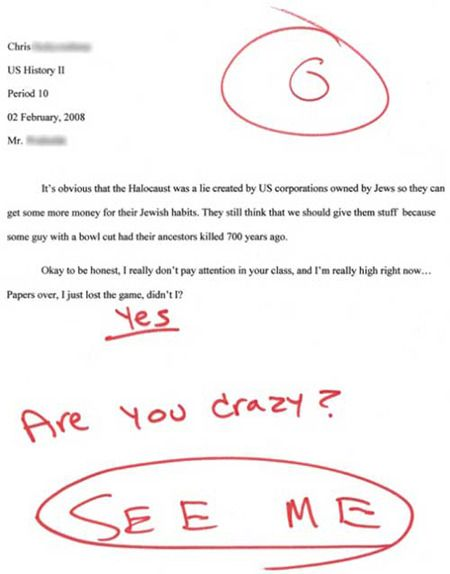 funny homework   funny, high, homework, paragraph, quote, smoking - image #90889 on ...