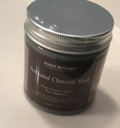 The BEST Charcoal Creme Mask 8.8 fl. oz.- Best for Facial Treatment, Minimizes Pores & Reduces Wrinkles, Acne Scars, Blackheads & Cellulite - Great as Face Mask & Body Cleanser by First Botany Cosmeceuticals