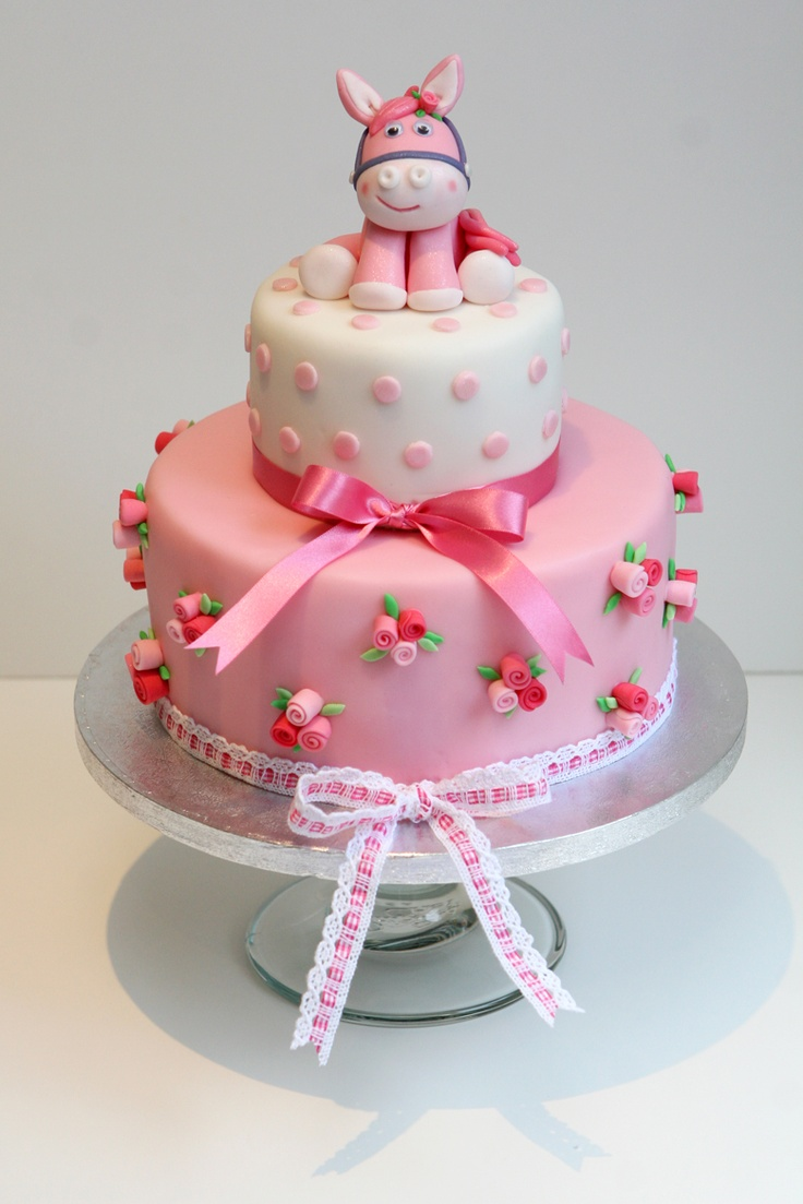 I got the inspiration for my daughter's cake form a cake on pinterest :-)