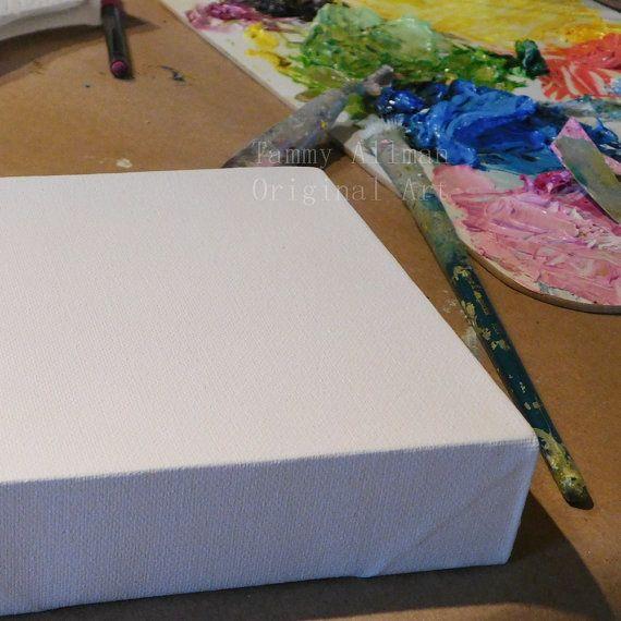 Ortensia rosa pittura pittura a olio piccolo Hydrangea