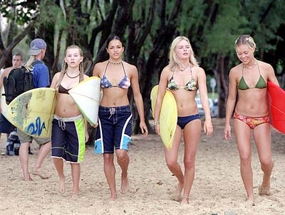 guilty pleasure movie - sometimes you just need a little Blue Crush!