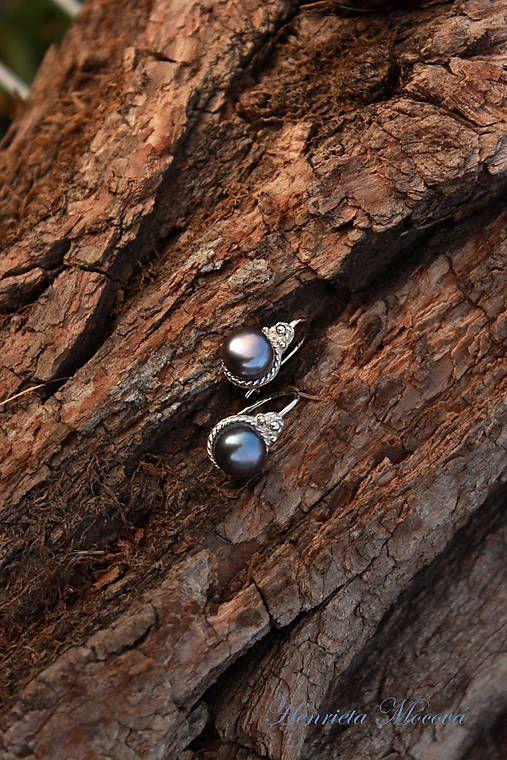 čierne perly