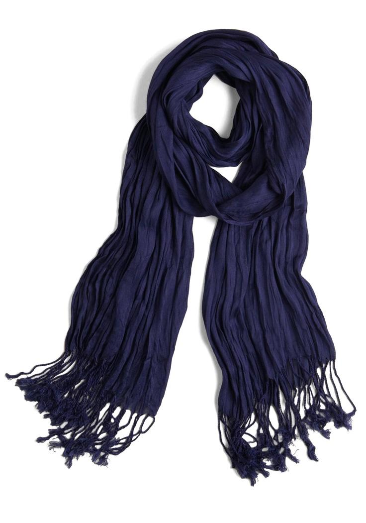 navy scarf! $16 @ Modcloth