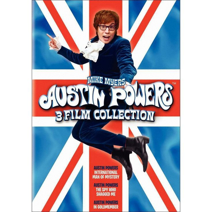 Austin Powers 3 Film Collection [2 Discs]