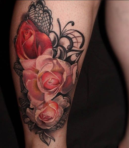 Flower Tattoos - Inked Magazine                                                                                                                                                                                 More