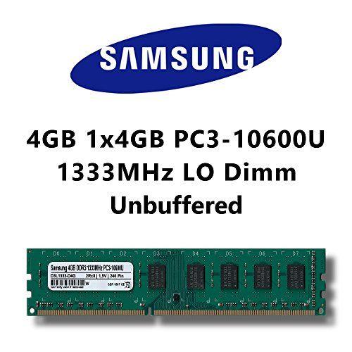 Extension de mémoire pour votre ordinateur. La mise à jour de votre mémoire vive est généralement le moyen le plus rentable et le plus efficace pour booster de manière significative la vitesse de votre ordinateur. Cette mémoire utilise uniquement des ICs (puces) de fabricants de qualité tels que Samsung, Hynix ou Micron. Très bon rapport qualité/prix.