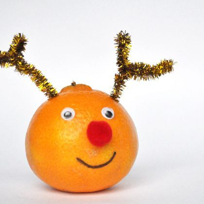 Rudolf, the Red Nose Orange
