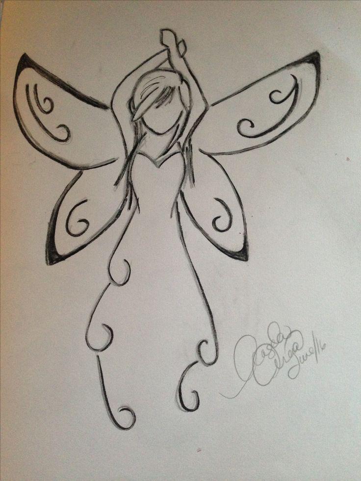 Charcoal angel