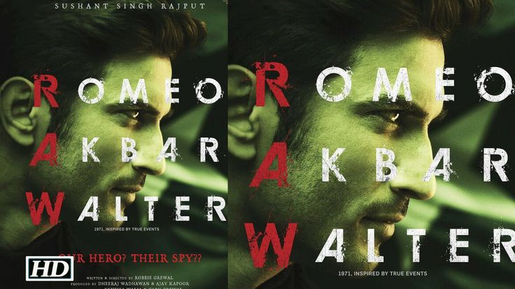 """Romeo Akbar Walter"" POSTER |Sushant playing ""RAW"" agent? , http://bostondesiconnection.com/video/romeo_akbar_walter_poster_sushant_playing_raw_agent/,  #cricketmatch #india-pakistan #indiansoldiers #ISI #JacquelineFernandez #KaranJohar #KritiSanon #londdrive #msdhoni #msdhonitheuntoldstory #Raabta #RAWagent #RomeoAkbarWalterposter #romeojuliet #SushantSinghRajput #sushant'supcomingfilm #sushatnsingh'sgirlfriend"