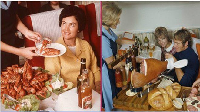 Biliyor muydun ? /// 50 Yıl Önce Uçaklarda İkram Edilen Yemekleri Gösteren 22 Şaşırtıcı Fotoğraf