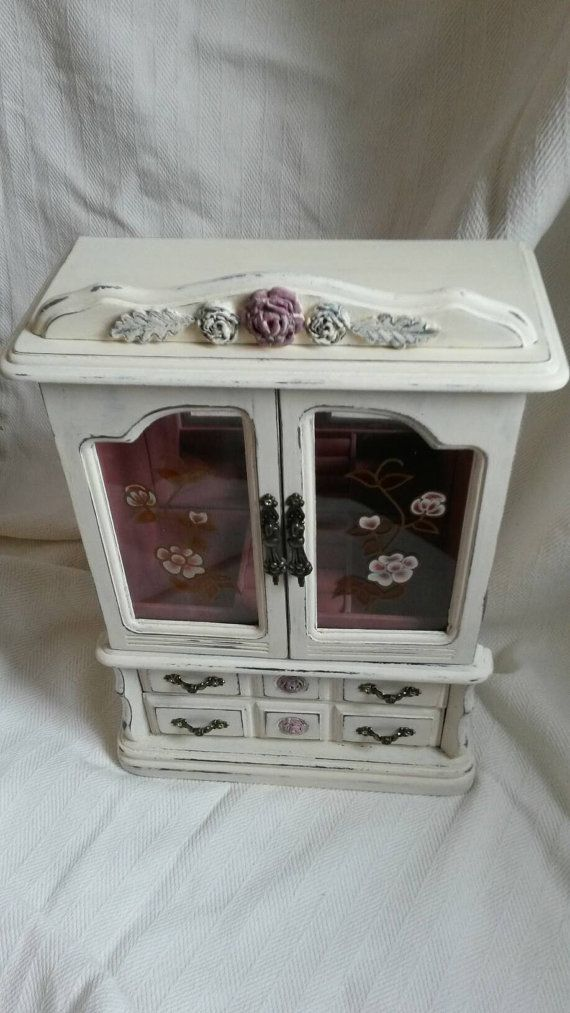 88 best ETSY Shabby chic jewellery boxes with a twistupcycled