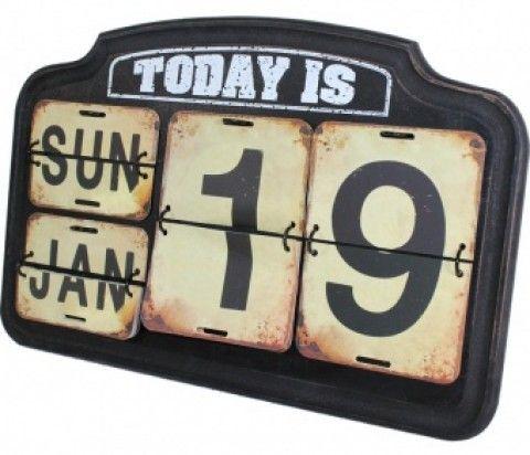 Calendar Retro