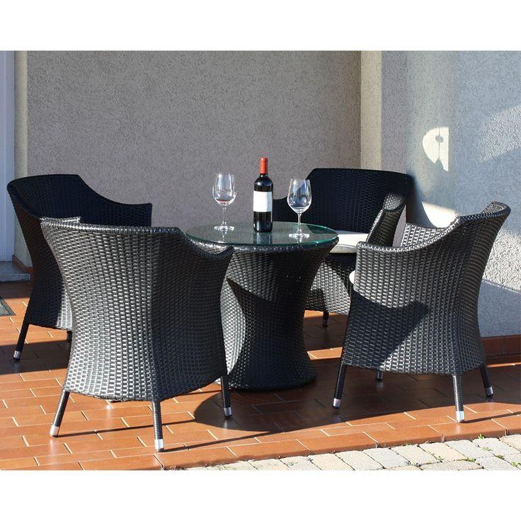 Per il vostro #giardino, scegliete le #sedie in alluminio #Biblo: resistono a qualunque agente atmosferico!