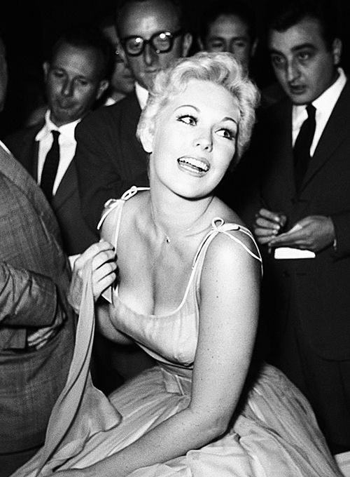 The beautiful, Kim Novak