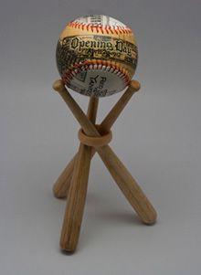mini bat baseball display stand for grand slam u0026 homerun balls