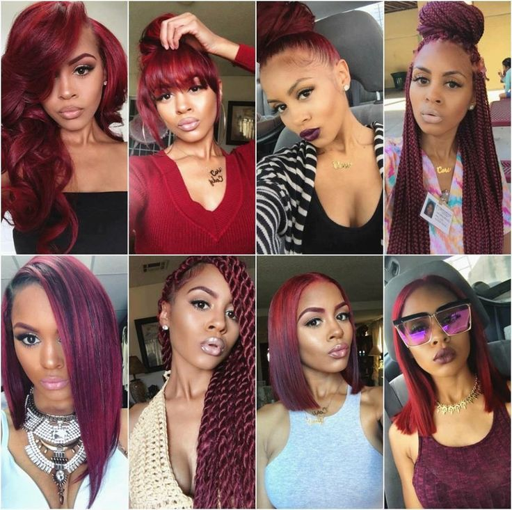 181 best Colored Weave Hair Styles images on Pinterest | Hairdos ...