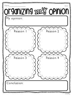 Common Core- Writing Opinions All Year Long!!!!