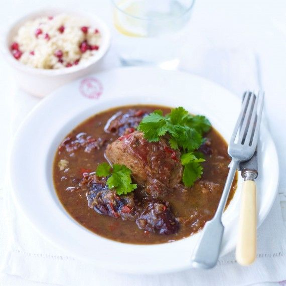 Spicy Slow-braised Pork and Prunes - Woman And Home