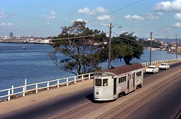 FM510 on Kingsford Smith Drive, Hamilton alongside the Brisbane River. It's now a road on which there are regular traffic delays.