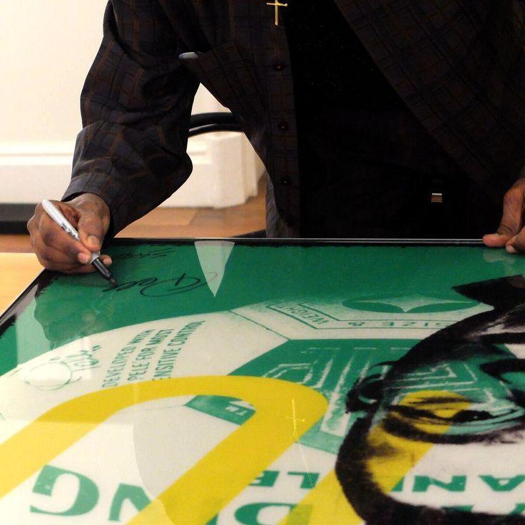 Pele Co-Signing artworks