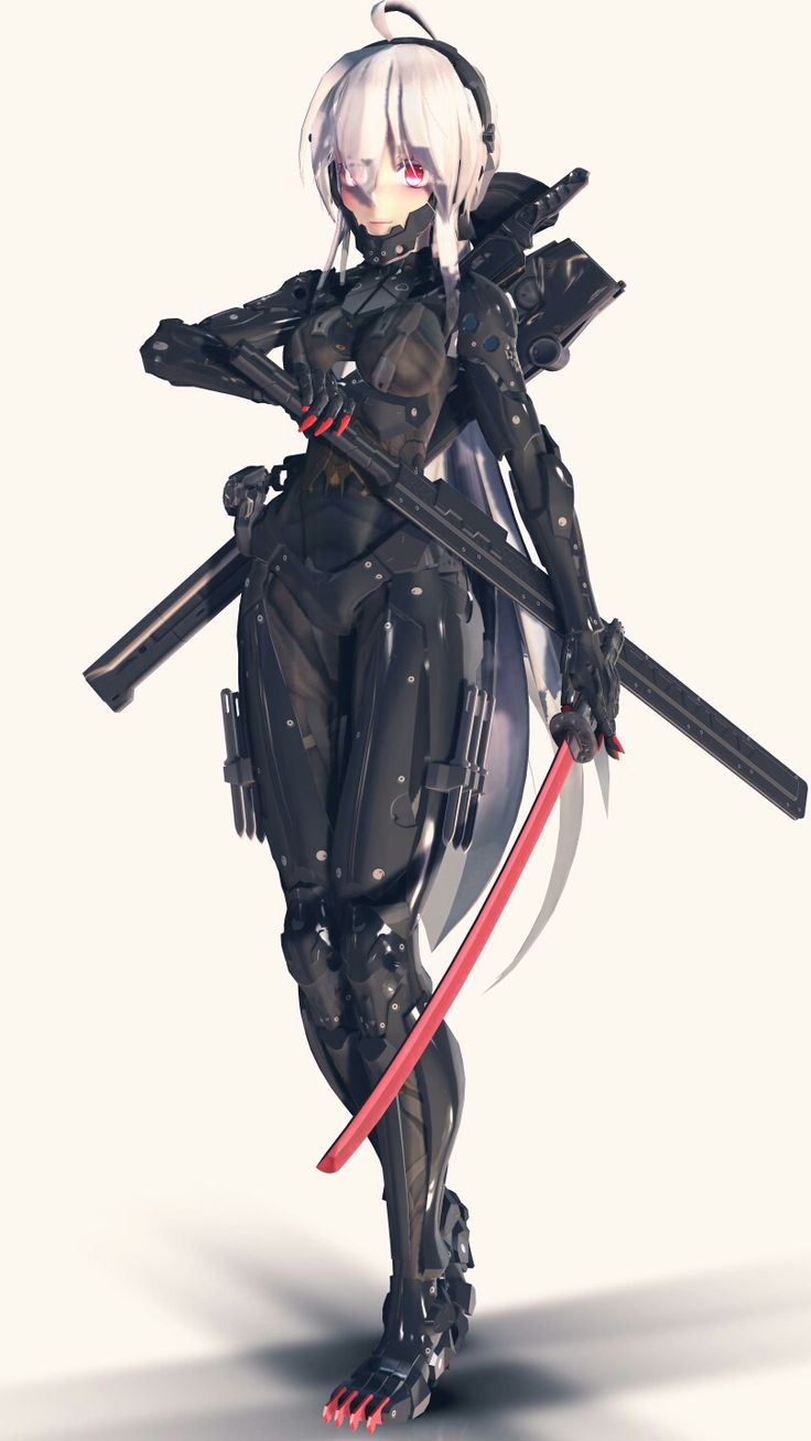 Anime Girl Samurai Armor | www.pixshark.com - Images ...