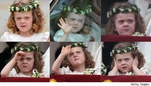 William's Expressive Goddaughter, Grace Van Cutsem