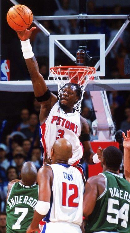 Ben Wallace - Detroit Pistons, 2000–2006, 2009–2012