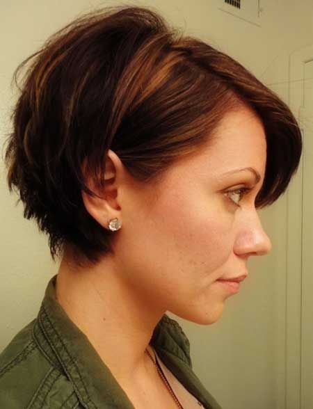 Cute Short Hair Styles for Women | elfsacks -cute for growing out pixie, short in the back, no mullet