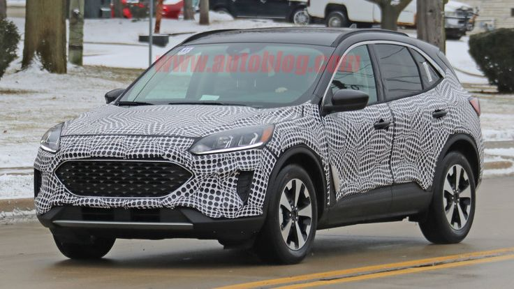 2020 Ford Escape Hybrid Spied With Minimal Camo And Interior Exposed Ford Escape Ford Compact Crossover
